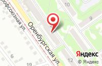 Схема проезда до компании Печатный Двор в Прокопьевске