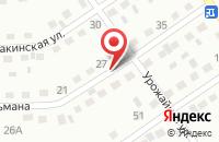 Схема проезда до компании Инвест-Ойл в Прокопьевске