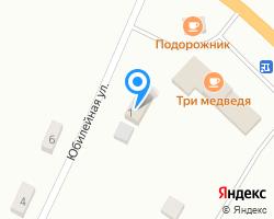 Схема местоположения почтового отделения 652126
