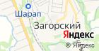 Загорский детский сад комбинированного вида на карте