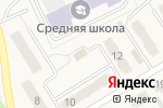 Схема проезда до компании Продуктовый магазин в Металлургове