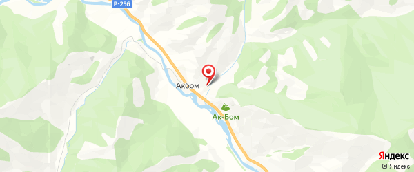 Турбаза «У Егорыча» на картах