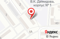 Схема проезда до компании Тиара в Новокузнецке