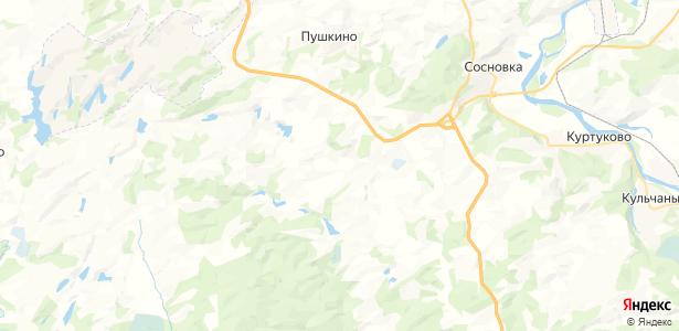 Красинск на карте