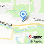 Абсолют на карте Новокузнецка