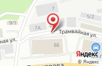 Схема проезда до компании Бренд-Клуб в Новокузнецке