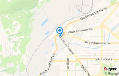 Местоположение на карте пункта техосмотра по адресу Кемеровская область - Кузбасс, г Новокузнецк, р-н Центральный, пр-кт Курако, д 53 к 3