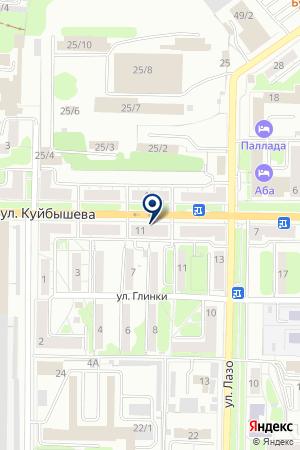МАГАЗИН ПАРФЮМЕРИИ ПАНОРАМА на карте Новокузнецка