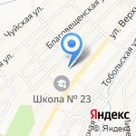 Детский сад №274 на карте Новокузнецка