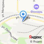 Командор на карте Новокузнецка
