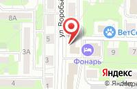 Схема проезда до компании Садовод Сибири в Новокузнецке