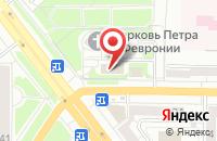 Схема проезда до компании Научно-Производственная Компания «Термо» в Новокузнецке
