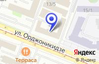 Схема проезда до компании АЗС №1 FAST в Новокузнецке