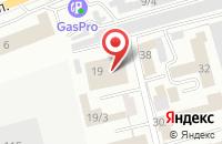 Схема проезда до компании Южкузбассресурс в Новокузнецке