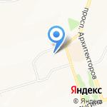 Милена на карте Новокузнецка