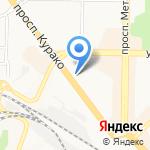 КБ Агропромкредит на карте Новокузнецка