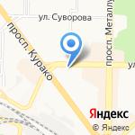 Эстетика-мед на карте Новокузнецка