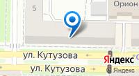 Компания Дакрон на карте