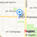 Для Своих на карте Новокузнецка