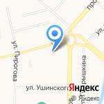 Банкомат на карте Новокузнецка