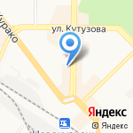 Оконный Дом на карте Новокузнецка