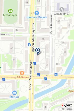 Обои плюс на карте Новокузнецка