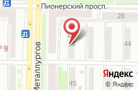 Схема проезда до компании Тмс в Новокузнецке
