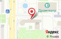 Схема проезда до компании Медиакомпания «Иксфайл» в Новокузнецке
