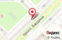 Схема проезда до компании Стройсервис в Новокузнецке