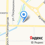 Рыба.Рис на карте Новокузнецка