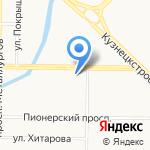 Совкомбанк на карте Новокузнецка