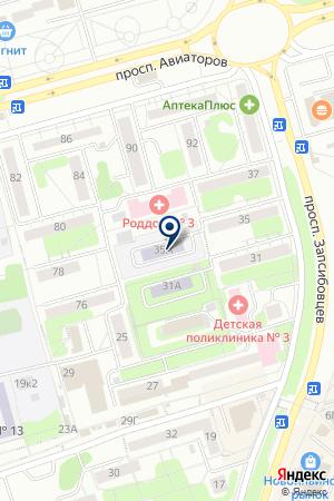 ДЕТСКИЙ САД ОБЩЕРАЗВИВАЮЩЕГО ВИДА МИШУТКА на карте Новокузнецка