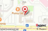 Схема проезда до компании Содействие предпринимательству на территории города Новокузнецка в Новокузнецке