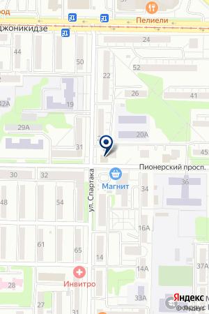 МАГАЗИН БЫТОВОЙ ТЕХНИКИ ПАНАСОНИК на карте Новокузнецка