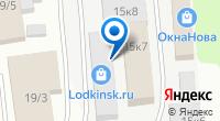 Компания Неватом на карте