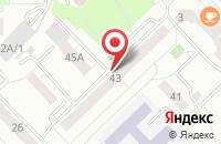 Схема проезда до компании Бизнес-Офис в Новокузнецке