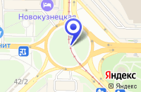 Схема проезда до компании ПТФ ФРОН в Новокузнецке