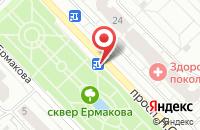 Схема проезда до компании Медиатрейд в Новокузнецке
