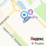 Центр развития ребенка-детский сад №3 на карте Новокузнецка