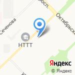 Мария-Ра на карте Новокузнецка