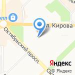 Звездная Феерия на карте Новокузнецка