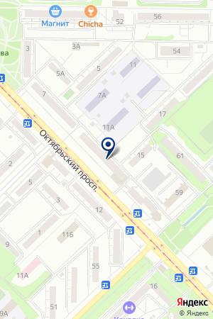 БАЛЯСНИКОВА Р.П на карте Новокузнецка