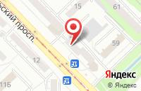 Схема проезда до компании Промсервис в Новокузнецке