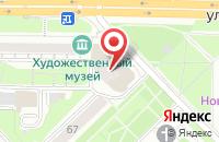 Схема проезда до компании Инфо-Сервис в Новокузнецке