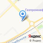 Бесплатная служба бронирования посуточного жилья на карте Новокузнецка