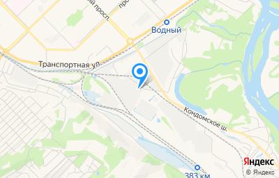 Местоположение на карте пункта техосмотра по адресу Кемеровская область - Кузбасс, г Новокузнецк, р-н Куйбышевский, ул Полевая, д 29