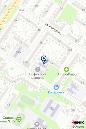 ХУДОЖЕСТВЕННОЕ ОТДЕЛЕНИЕ ДЕТСКАЯ ШКОЛА ИСКУССТВ №58 на карте Новокузнецка