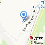 Тутафэ на карте Новокузнецка