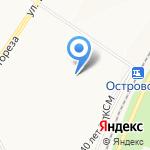 Хорошее настроение на карте Новокузнецка