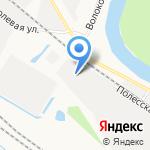 Эрготрэйд на карте Новокузнецка